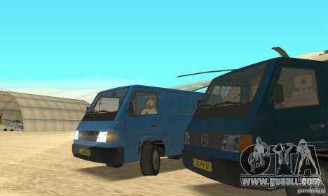 Mercedes-Benz MB100 for GTA San Andreas right view
