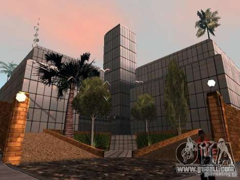 The new hospital in Los Santos for GTA San Andreas