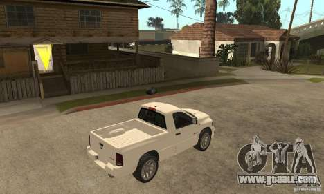 Dodge Ram SRT 10 for GTA San Andreas right view