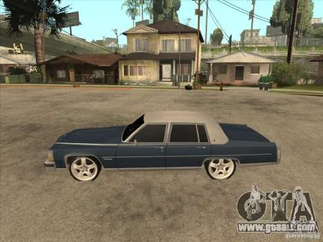 Cadillac Fleetwood Brougham 1985 for GTA San Andreas left view