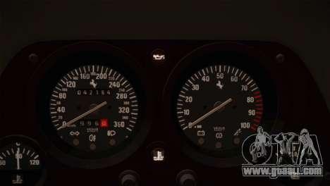 Ferrari F40 1987 for GTA San Andreas interior