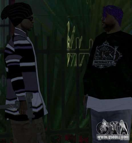 Replacement bands, tattoos, clothing, etc. for GTA San Andreas forth screenshot