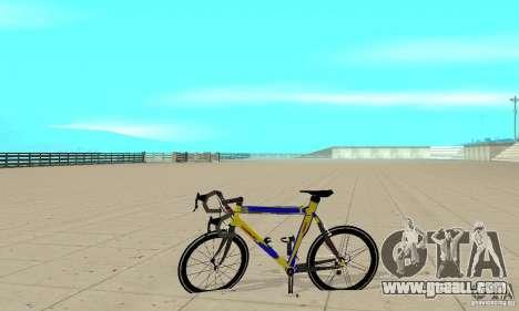 Racing Cycle Turmac Legnano for GTA San Andreas