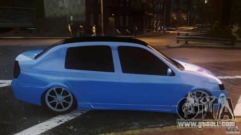 Renault Clio Tuning for GTA 4 left view