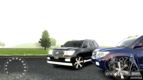 Toyota Land Cruiser 200 RESTALE for GTA 4 side view