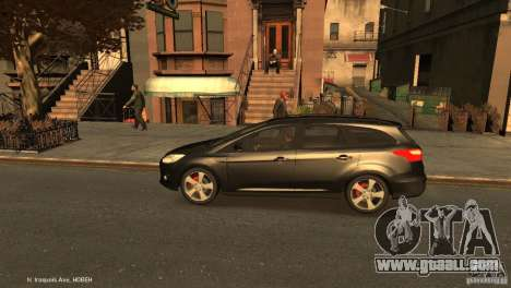 Ford Focus Universal Unmarked for GTA 4 left view