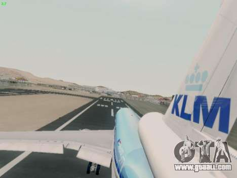 McDonell Douglas DC-10-30 KLM Royal Dutch for GTA San Andreas