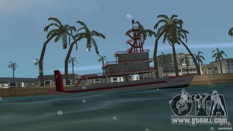 Ferry for GTA Vice City left view