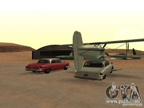 Car-plane for GTA San Andreas back left view
