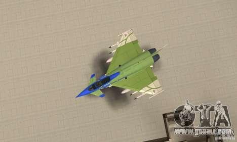 Eurofighter 2010 for GTA San Andreas