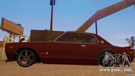 Nissan Skyline GT-R 2000 for GTA San Andreas