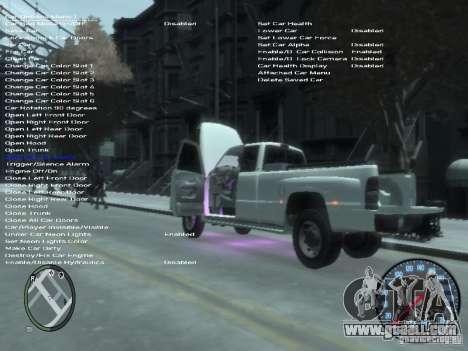 Dodge Ram 3500 for GTA 4 upper view