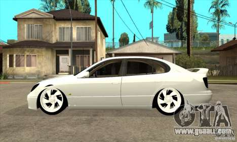 Lexus GS300 V 2003 for GTA San Andreas back left view
