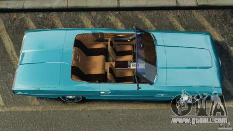 Ford Thunderbird Light Custom 1964-1965 v1.0 for GTA 4 right view