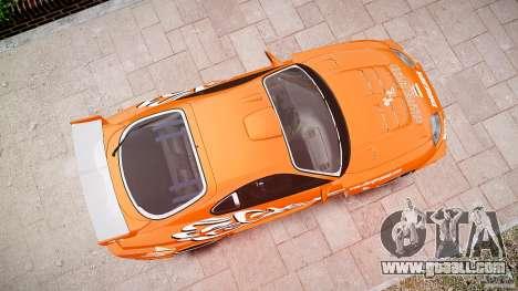 Toyota Supra MK4 Tunable v1.0 for GTA 4 bottom view