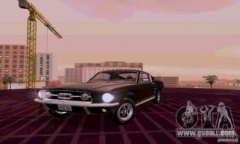 Ford Mustang 1967 for GTA San Andreas