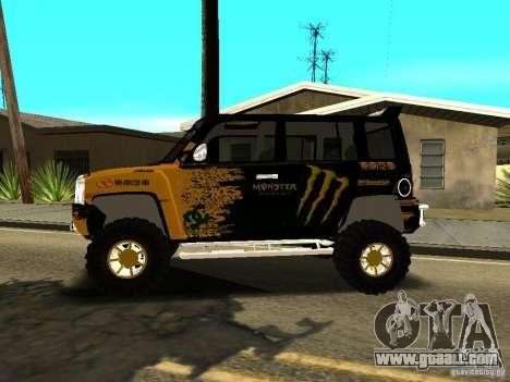 Scion xB OffRoad for GTA San Andreas left view