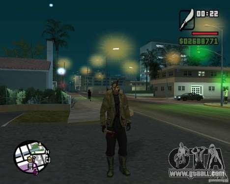 Jason Voorhees for GTA San Andreas second screenshot