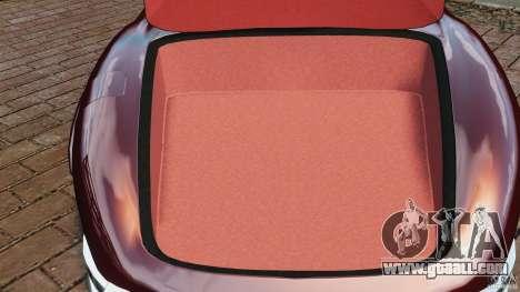Mercedes-Benz 300 SL Roadster v1.0 for GTA 4 upper view
