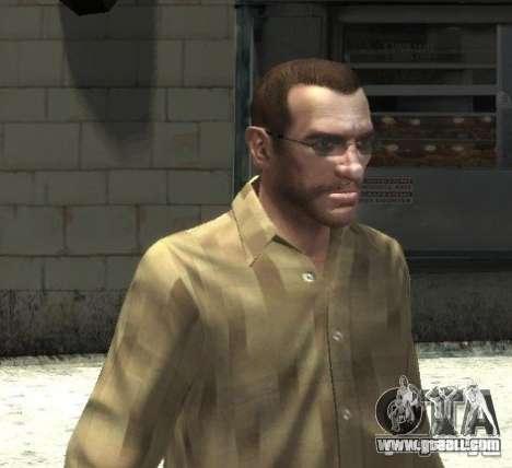 New glasses for Niko-bright for GTA 4 third screenshot