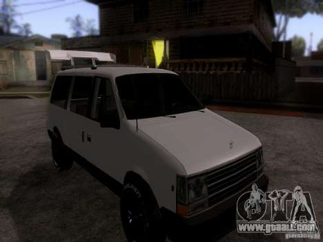Plymouth Grand Voyager 1970 for GTA San Andreas right view