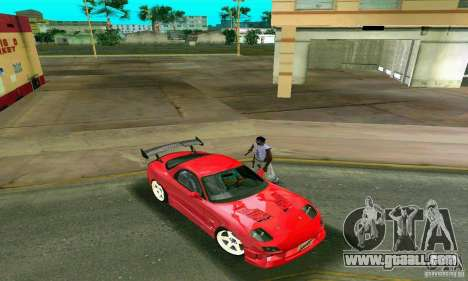 Mazda RX7 Charge-Speed for GTA Vice City inner view