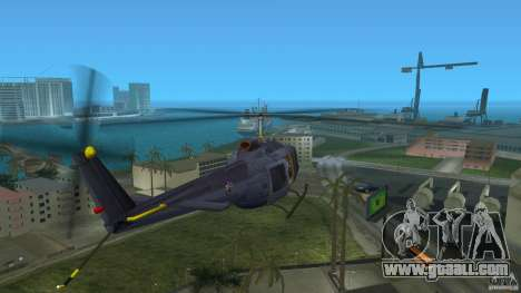 Maverick Bell-Huey for GTA Vice City back left view