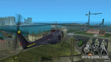 Maverick Bell-Huey for GTA Vice City back left view