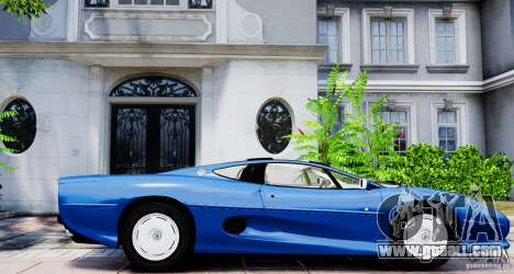 Jaguar XJ 220 for GTA 4 left view