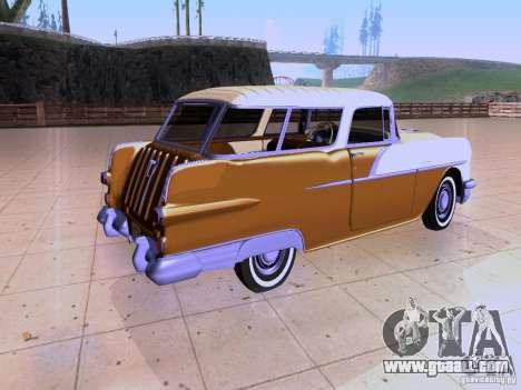 Pontiac Safari 1956 for GTA San Andreas back left view