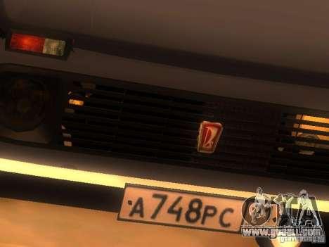Vaz 2131 NIVA for GTA San Andreas side view