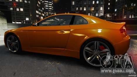 Audi S5 Conceptcar for GTA 4 left view