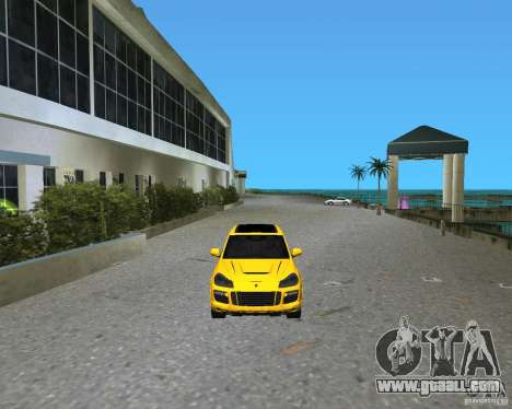 2009 Porsche Cayenne Turbo for GTA Vice City left view