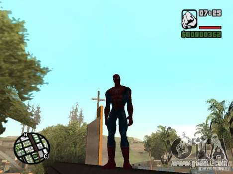 Spider Man From Movie for GTA San Andreas fifth screenshot