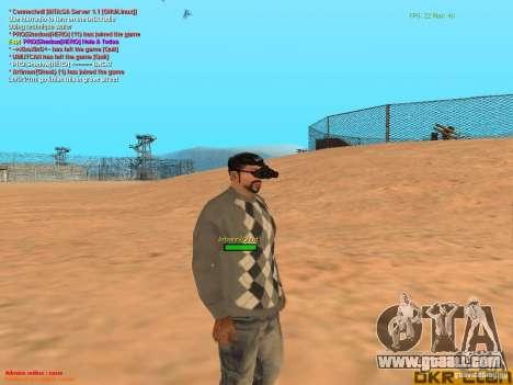 NV Goggles for GTA San Andreas fifth screenshot