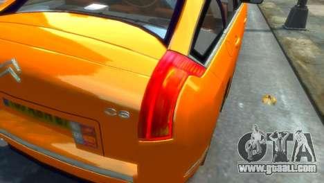 Citroen C6 for GTA 4 left view