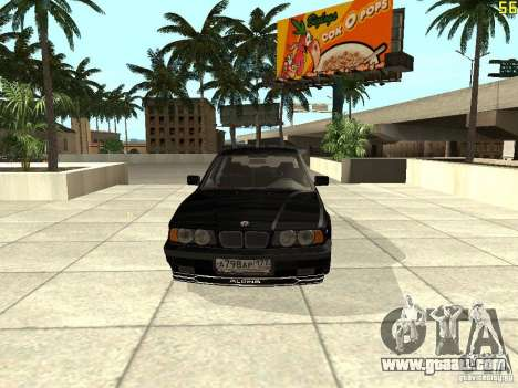 BMW E34 Alpina B10 Bi-Turbo for GTA San Andreas left view