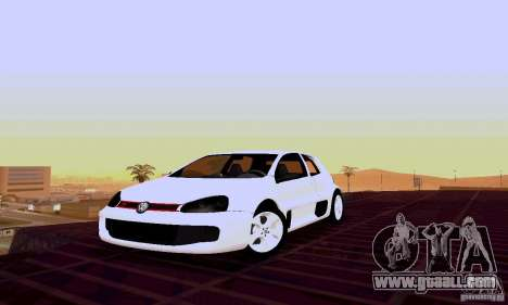 Volkswagen Golf 5 GTI W12 for GTA San Andreas