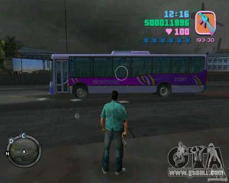 Marcopolo Bus for GTA Vice City left view