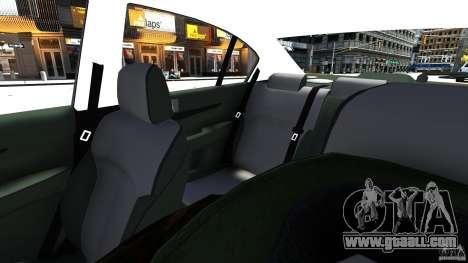 Subaru Legacy B4 for GTA 4 inner view