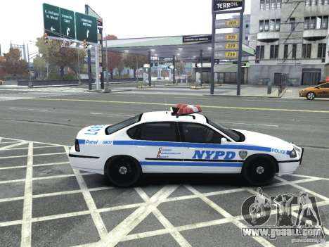 Chevrolet Impala NYCPD POLICE 2003 for GTA 4 right view