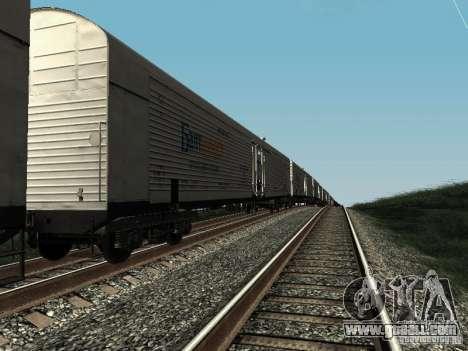Refrežiratornyj wagon Dessau No. 5 prima audit for GTA San Andreas left view