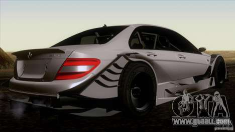 Mercedes Benz C-Class Touring 2008 for GTA San Andreas back left view