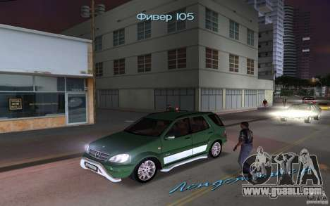 Mercedes-Benz ML55 Demec for GTA Vice City