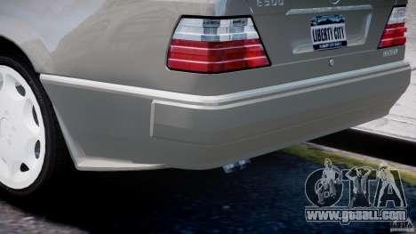 Mercedes-Benz W124 E500 1995 for GTA 4