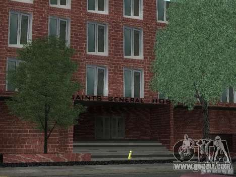 New textures hospital for GTA San Andreas second screenshot