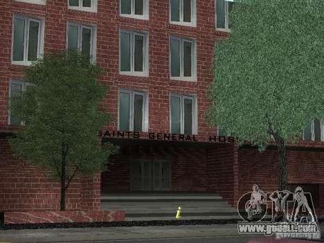 New textures hospital for GTA San Andreas second screenshot
