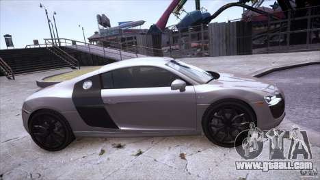 Audi R8 V10 for GTA 4 right view