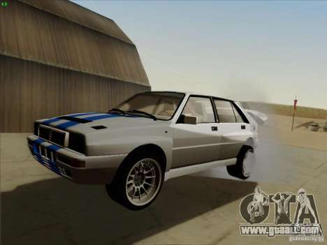 Lancia Integrale Evo for GTA San Andreas