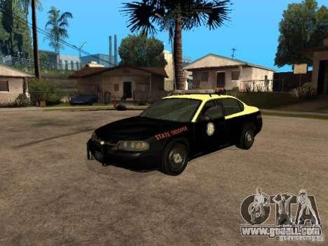 Chevrolet Impala Police 2003 for GTA San Andreas